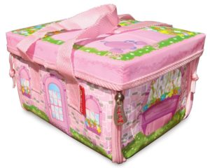 Neat-Oh! ZipBin Everyday Princess 50 Doll Mini Mansion w 1 Doll