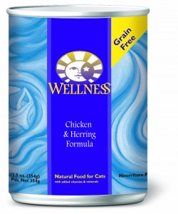 Wellness Complete Health Canned Cat Chicken & Herring