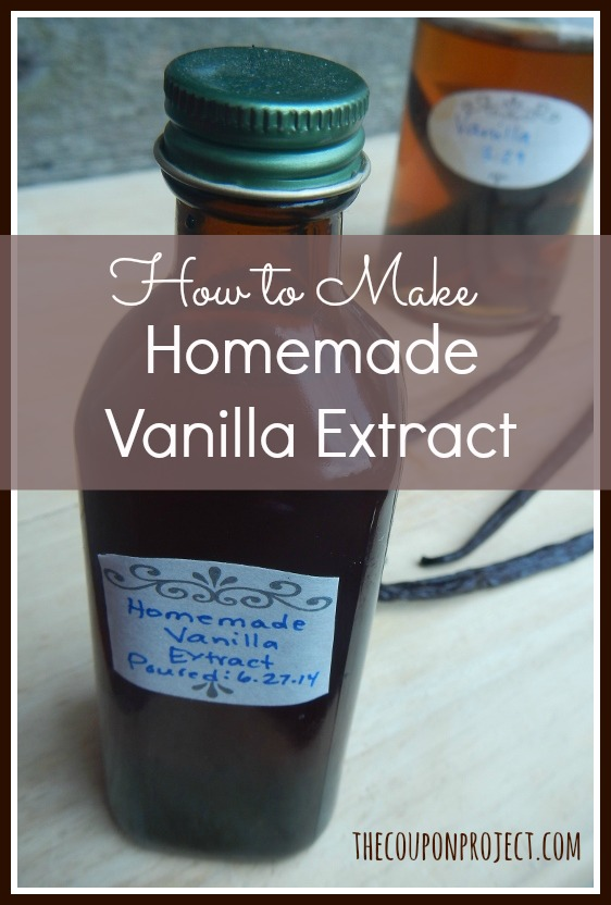 How to make homemade vanilla extract – for cheap! Here's a step-by ...