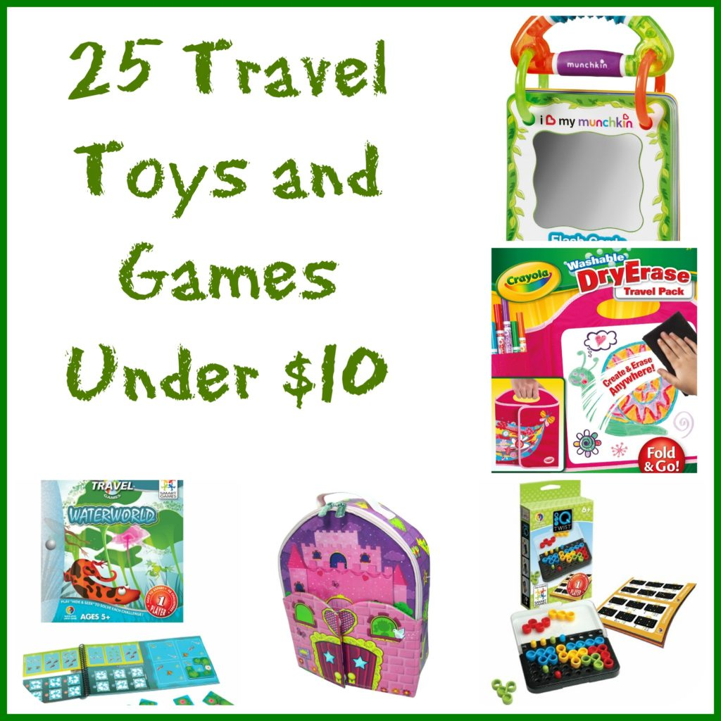 Toys And Games : Travel toys and games under