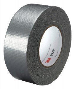 3M Utility Duct Tape 2929 Silver, 1-22 25 in x 50 yd 5.8 mils (Pack of 1)