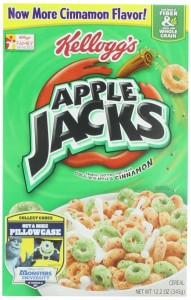Apple Jacks Cereal, 12.2-Ounce Boxes (Pack of 3)