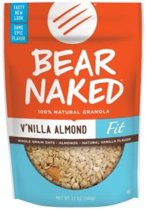 Bear Naked Fit Granola, Vanilla Almond Crunch, 12-Ounce Pouches (Pack of 6)