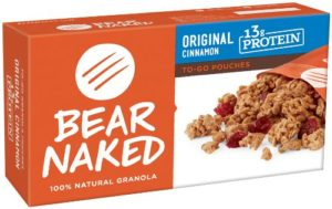 Bear Naked Morning Power Packs Granola, Peak Protein, 7.5 Ounce