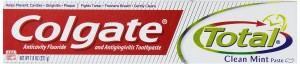 Colgate Total Anticavity Fluoride And Antigingivitis Toothpaste, Clean Mint, Paste, 7.8 oz (221 g) (Pack of 6)