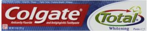 Colgate Total Plus Whitening Toothpaste, 7.8 Ounce Tube