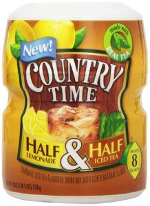 Country Time Drink Mix, Classic Lemonade Ice Tea, 19 Ounce Unit (Pack of 12)
