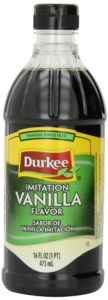 Durkee Vanilla Flavor Imitation, 16-Ounce Container (Pack of 6)