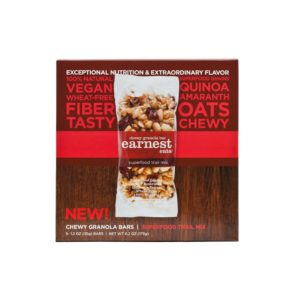 Earnest Eats Chewy Granola Bars Superfood Trail Mix, 6.2 Ounce
