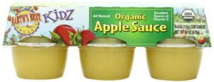 Earth's Best Kidz Organic Apple Sauce, 6 Cups