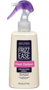 Frizz Ease Heat Defeat Protective Styling Spray By JOHN FRIEDA, 6 Ounce