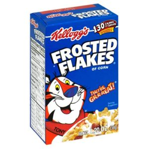 Frosted Frosted Flakes Cereal Individuals, 1.2-Ounce Boxes (Pack of 70)