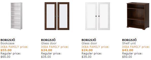IKEA Family discounts