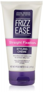 John Frieda Frizz Ease Straight Fixation Styling Crème 5 oz.