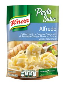 Knorr Pasta Sides, Alfredo, 4.4-Ounce Packages (Pack of 12)