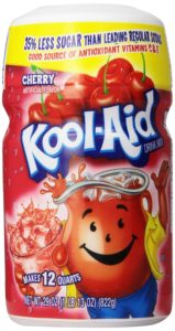 Kool-Aid Drink Mix, Sugar Sweetened Cherry, 29-Ounce Container (Pack of 4)
