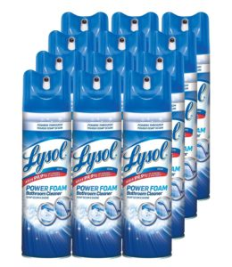 Lysol Bathroom Cleaner, Island Breeze, 24 Ounce (Pack of 12)