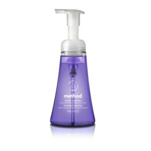 Method Foaming Hand Wash, French Lavender, 10 Ounce (Pack of 6)