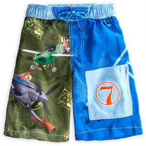 Planes Swim Trunks for Boys