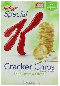 Special K Crisp Crackers, Sour Cream and Onion, 4-Ounce Boxes (Pack of 4)
