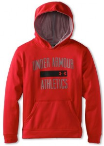 Under Armour Boys' Armour® Fleece Battle Hoodie (Big Kids)