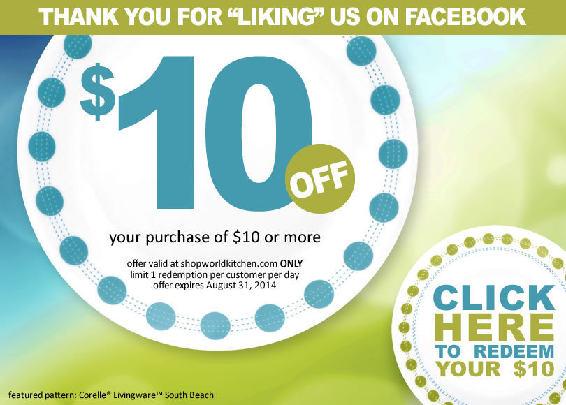 World Kitchen $10 Off
