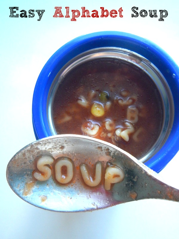 Easy Alphabet Soup Recipe