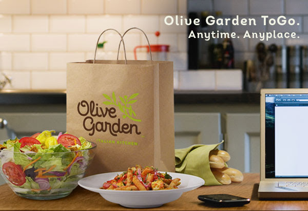 Olive Garden 5 Off Your Online To Go Order Of 30 Or More
