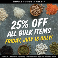 Whole Foods Market Weekend Deals: So Delicious Ice Cream as low as $1.67 each, 25% off Bulk Items, and More!
