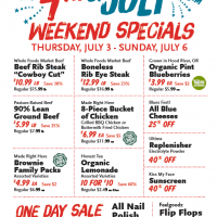 Whole Foods Market: 4th of July Weekend Sale