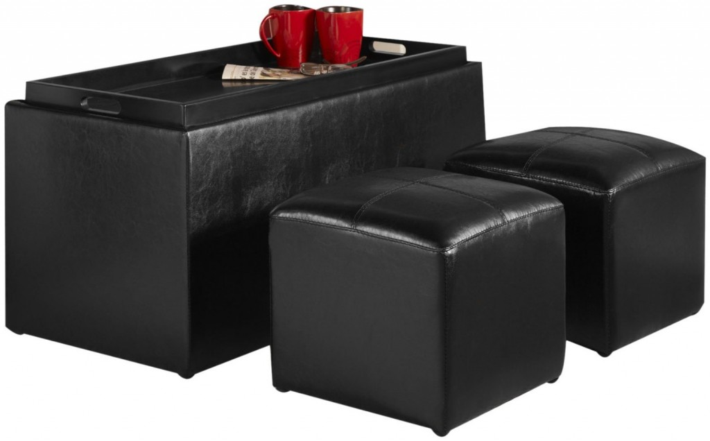 4 Piece Storage Ottoman Set For 69 29 Or Less Free Shipping From Target