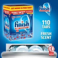 Finish® All-In-One Dishwasher Detergent Powerball Tabs 110ct