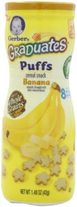 Gerber Graduates Puffs, Banana, 1.48-Ounce (pack of 6)