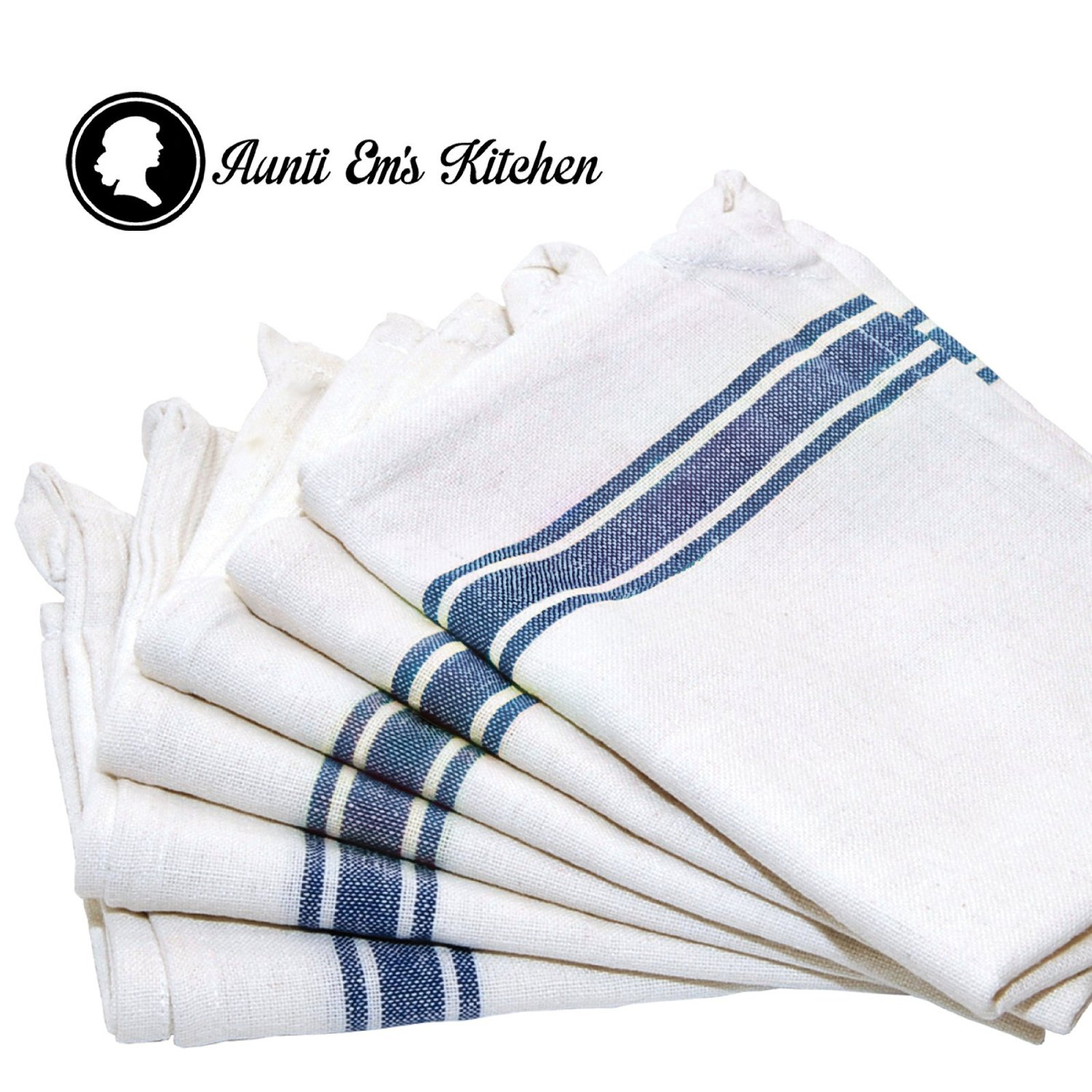 Blue and white kitchen towels - Amazon High Quality Kitchen Dish Towels 12 Pack For 19 42 Free Shipping With Prime