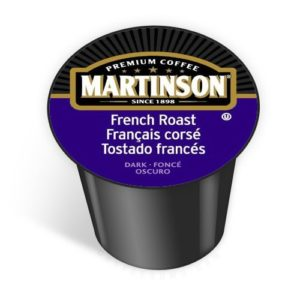 Martinson Coffee Capsules, French Roast, 48-Count