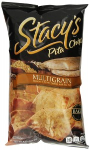 Stacy's Pita Chips, Multigrain, 8-Ounce Bags (Pack of 12)