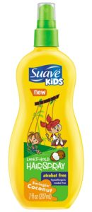 Suave Kids Swinging Coconut Hairspray, 7 Ounce