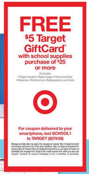 Target gift card 8.3