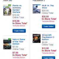 Best Buy: 50% Bonus Trade-In Credit for Video Games (in store)
