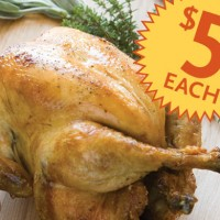 Whole Foods Market One Day Sale: Whole Roasted Chicken $5 (Today only!)