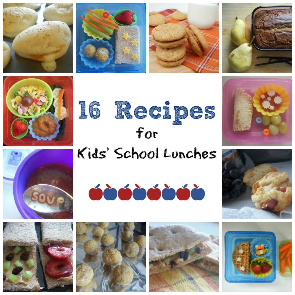 16 Recipes for Kids' School Lunches