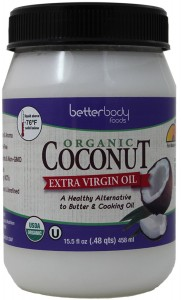 BetterBody Foods & Nutrition Organic Extra Virgin Coconut Oil, 15.5 Ounce