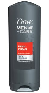 Dove Men Plus Care Body Wash, Deep Clean, 13.5 Ounce