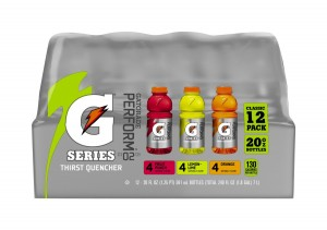 Gatorade G Series Thirst Quencher Original Variety Pack, 20 Ounce Bottles, 12 Pack