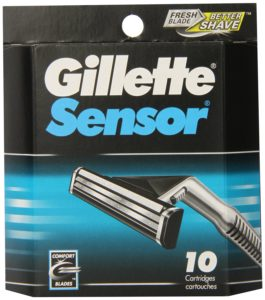 Gillette Sensor Cartridges 10 Count