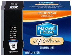 Maxwell House -- House Blend K Cups-12 Count Box