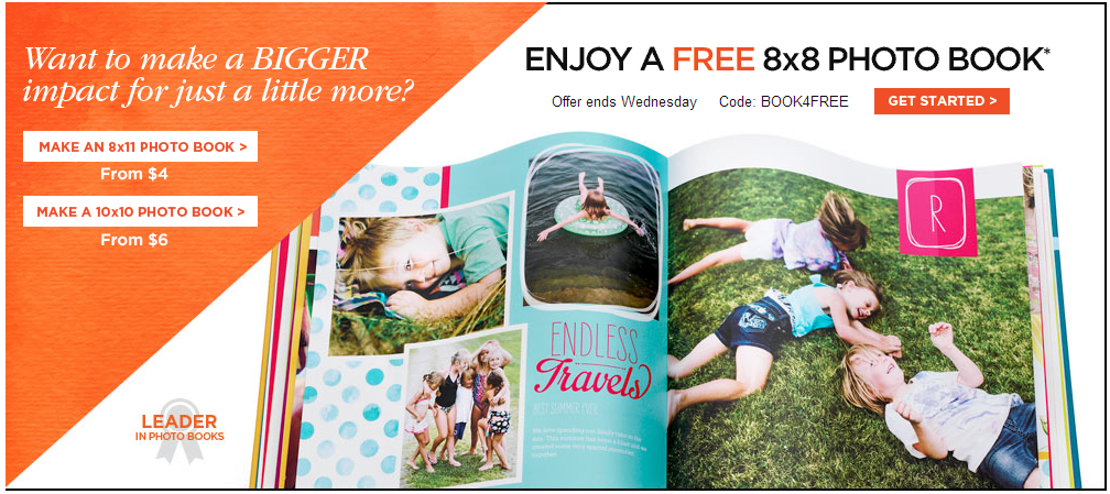 Free Shutterfly Photo Books Available!