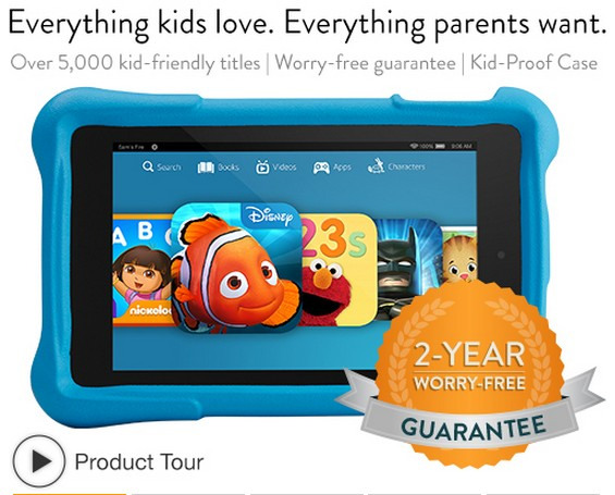 Kids Kindle Fire: Gift Ideas for Girls and Boys