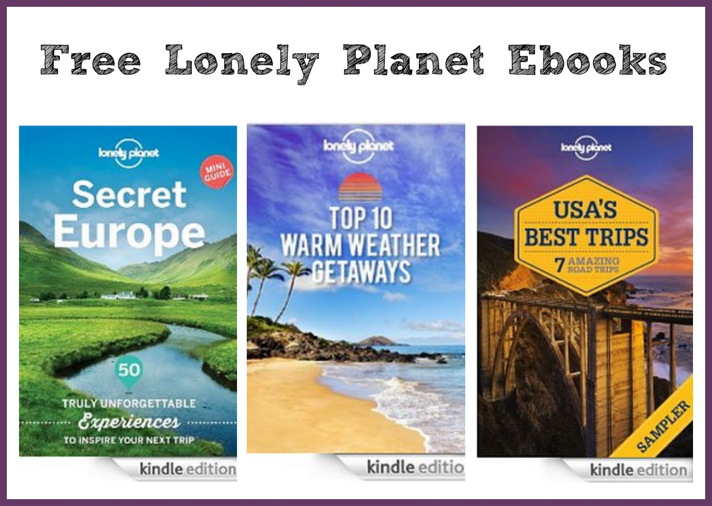 Lonely Planet: FREE Ebooks (Kindle) - The Coupon Project