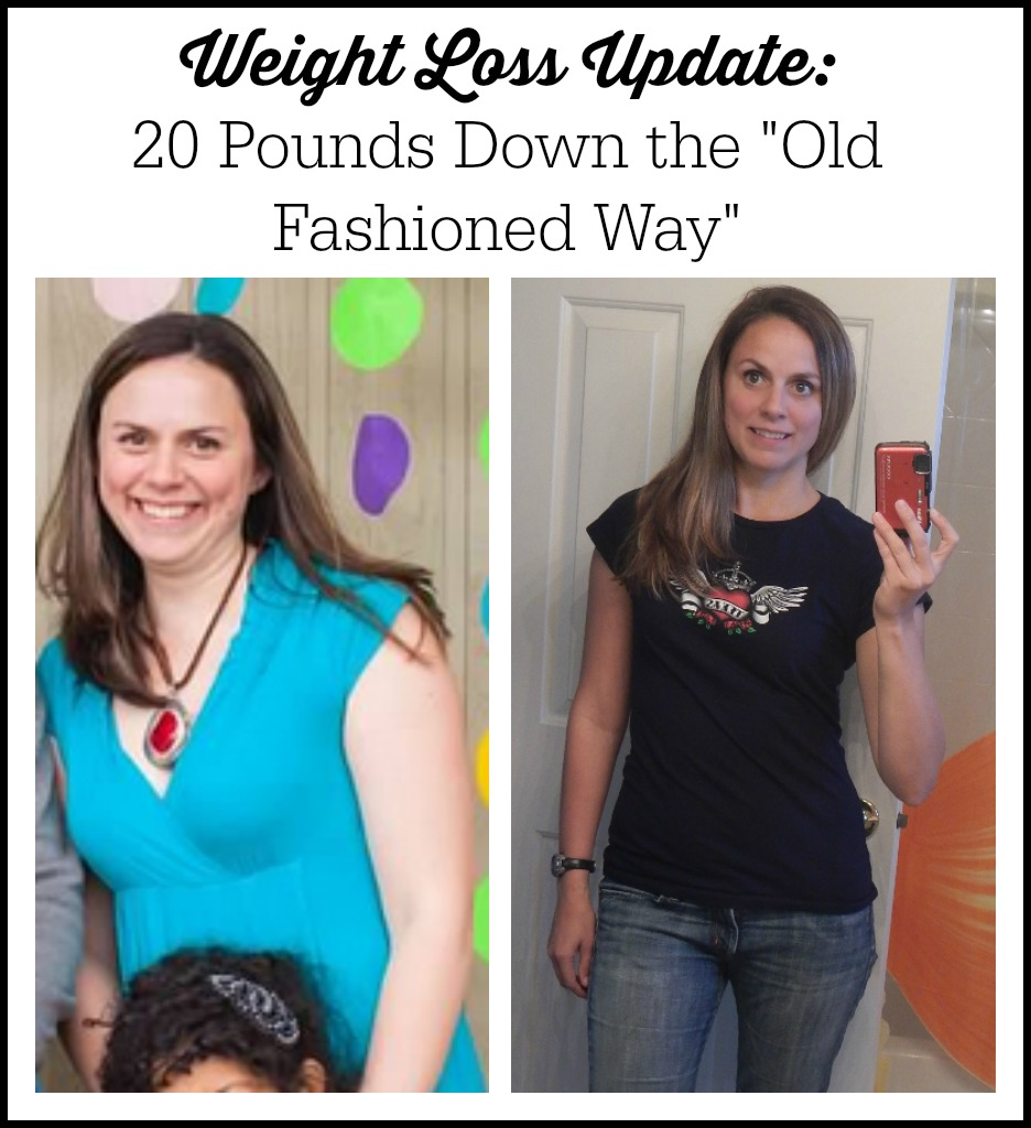 Weight Loss Before and After Photo - 20 pounds lost without supplements, shakes, or programs